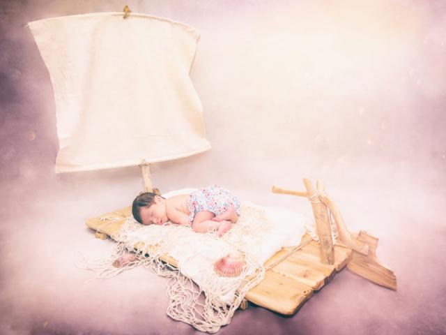 Photographe nouveau né, shooting studio