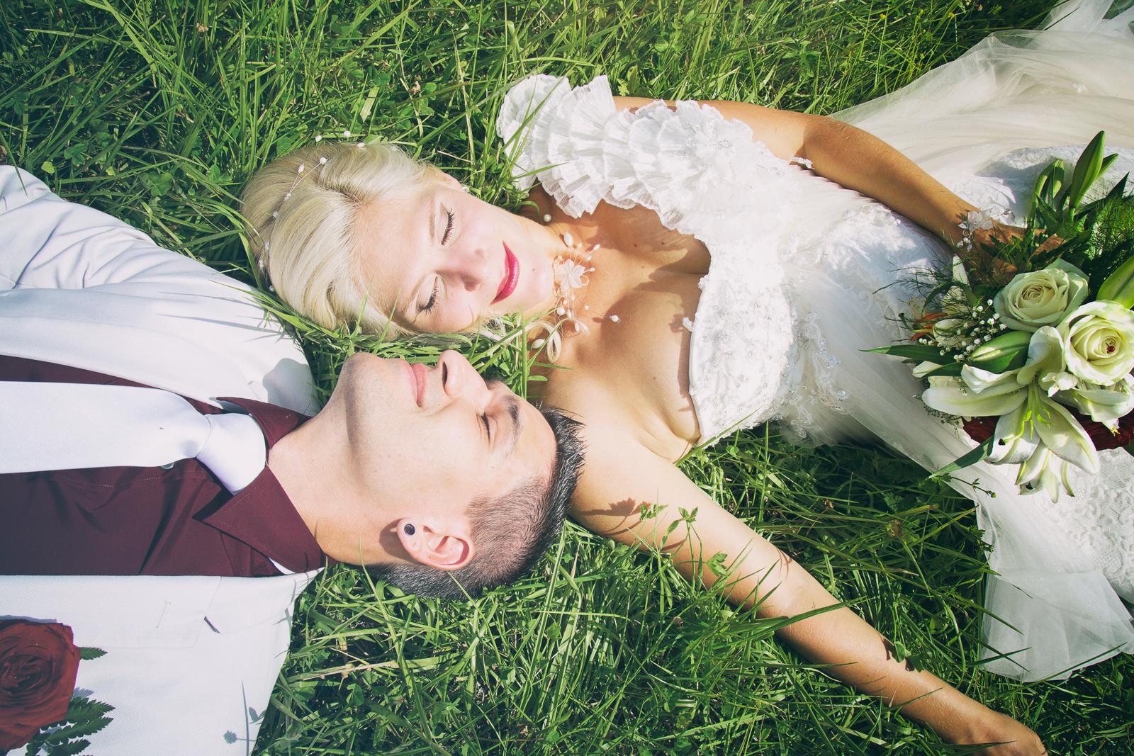 photographe de mariage, portrait des mariés