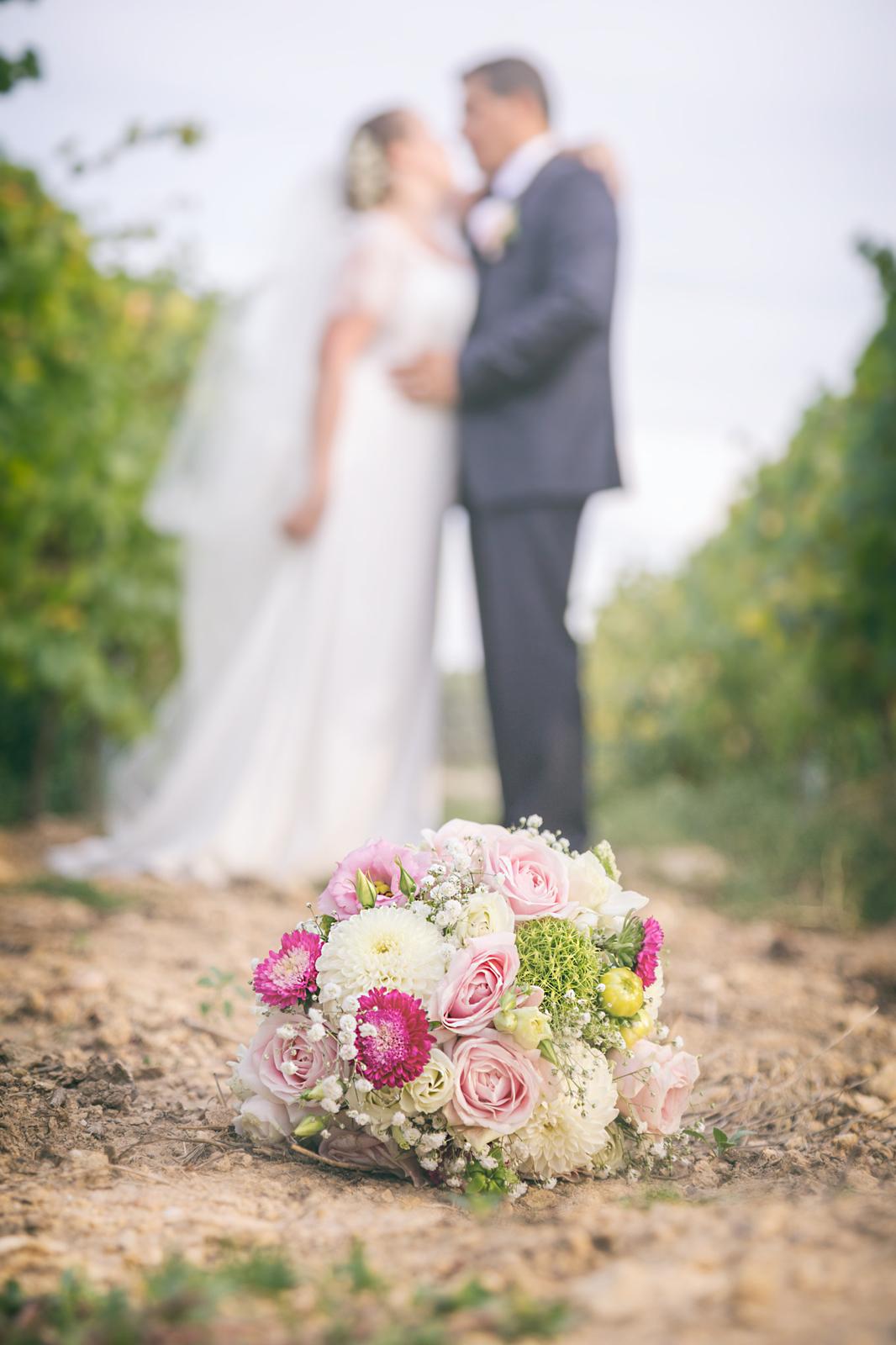 photographe de mariage, bouquet bohème
