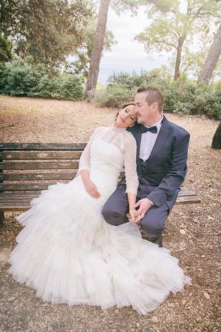 Photographe de mariage, mariage rétro, les mariés