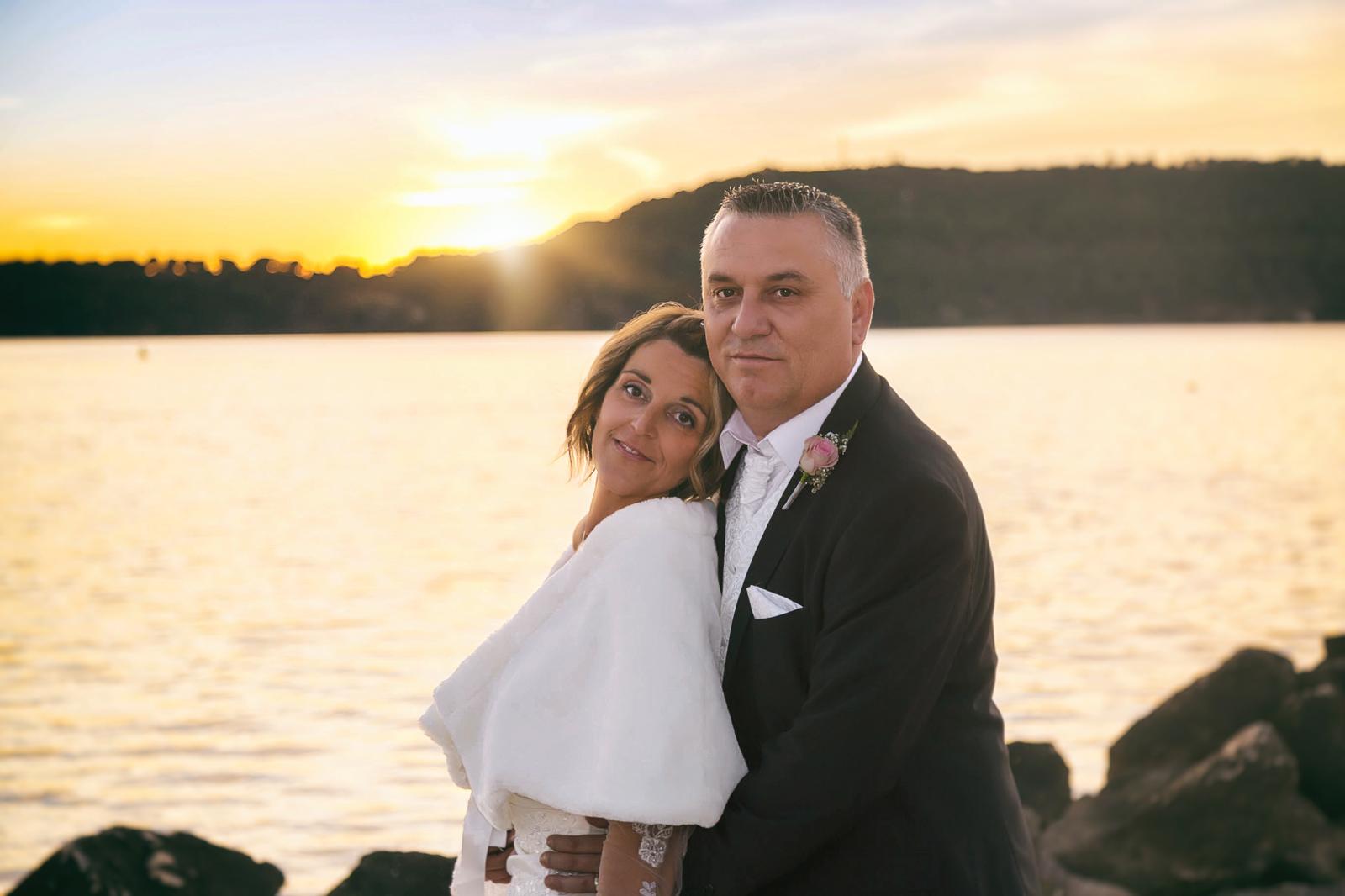 Photographe de mariage, mariage en hiver