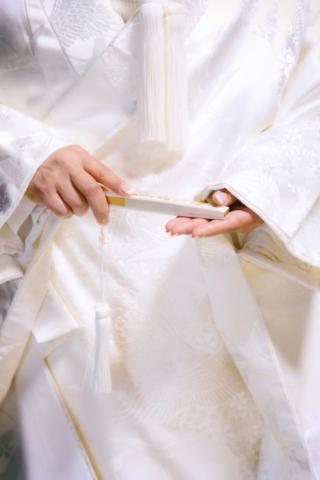 Photographe de mariage à l'étranger, accessoire de la mariée