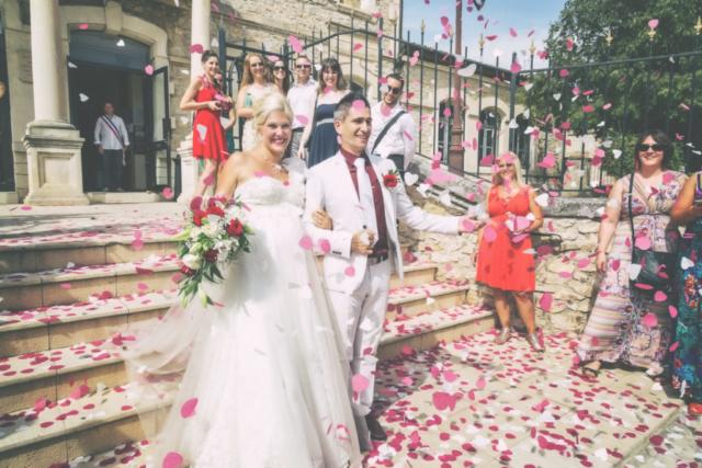 Photographe de mariage, la cérémonie
