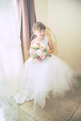 Photographe de mariage, demoiselle d'honneur
