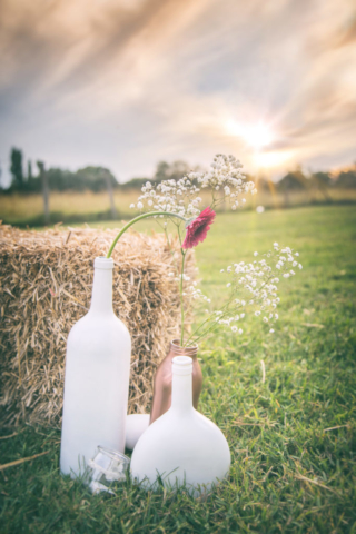 Photographe de mariage, mariage champêtre, la décoration