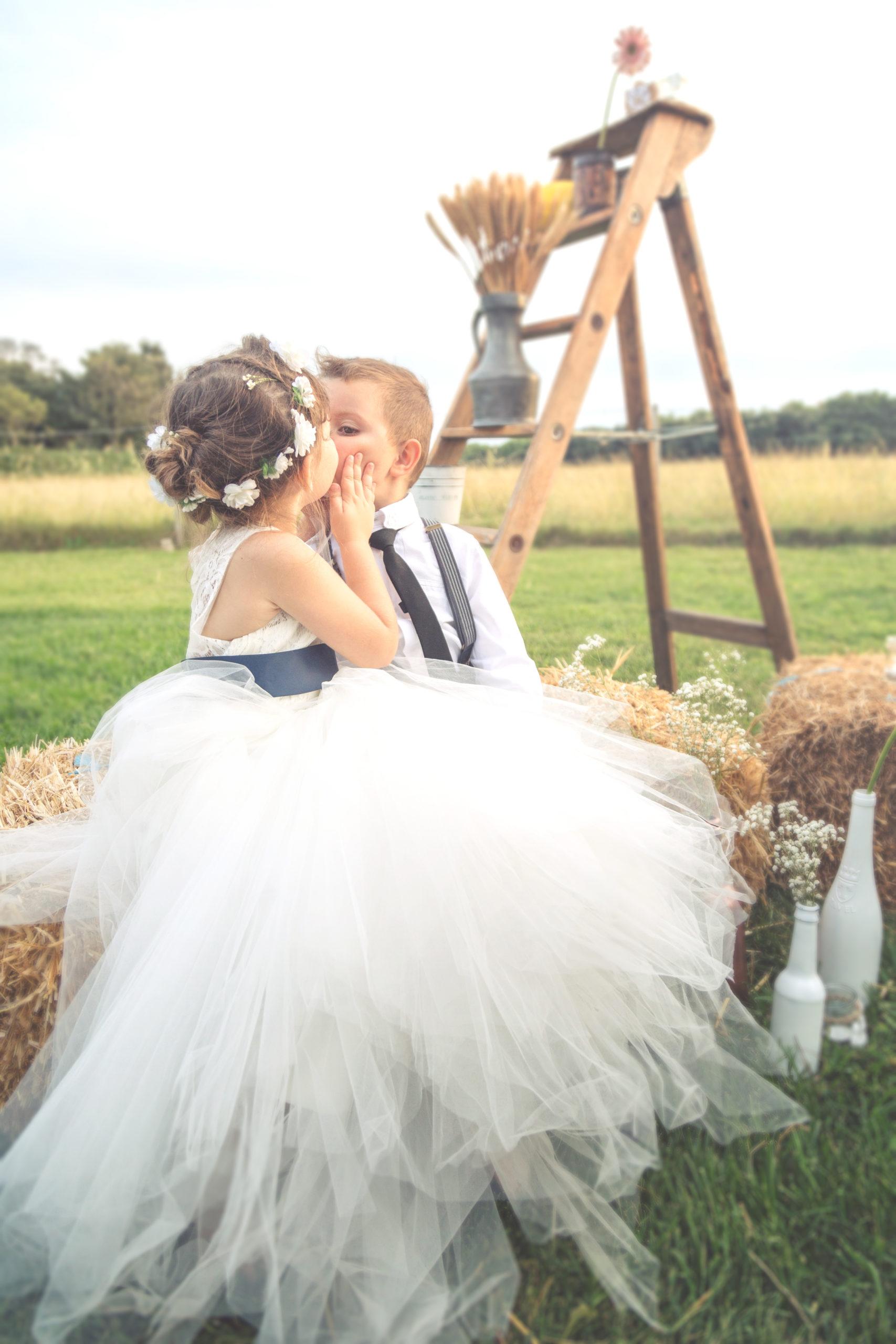 Photographe de mariage, les enfants