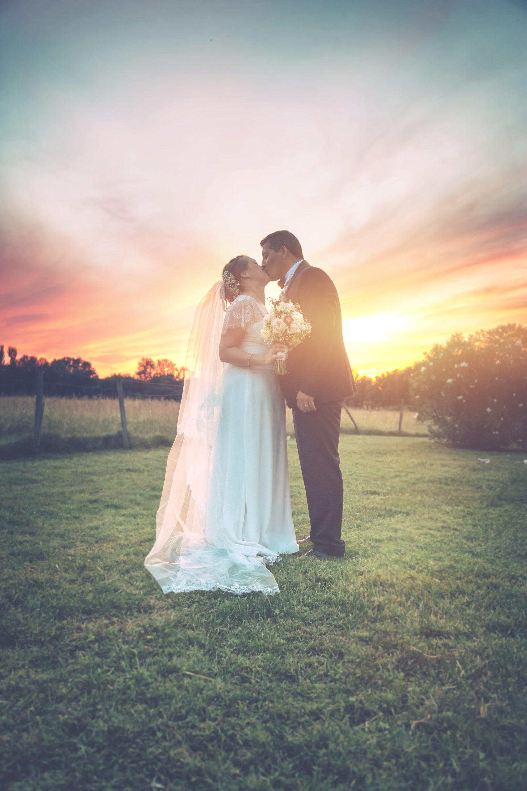 photographe de mariage portrait couple mariés Eternel Présent