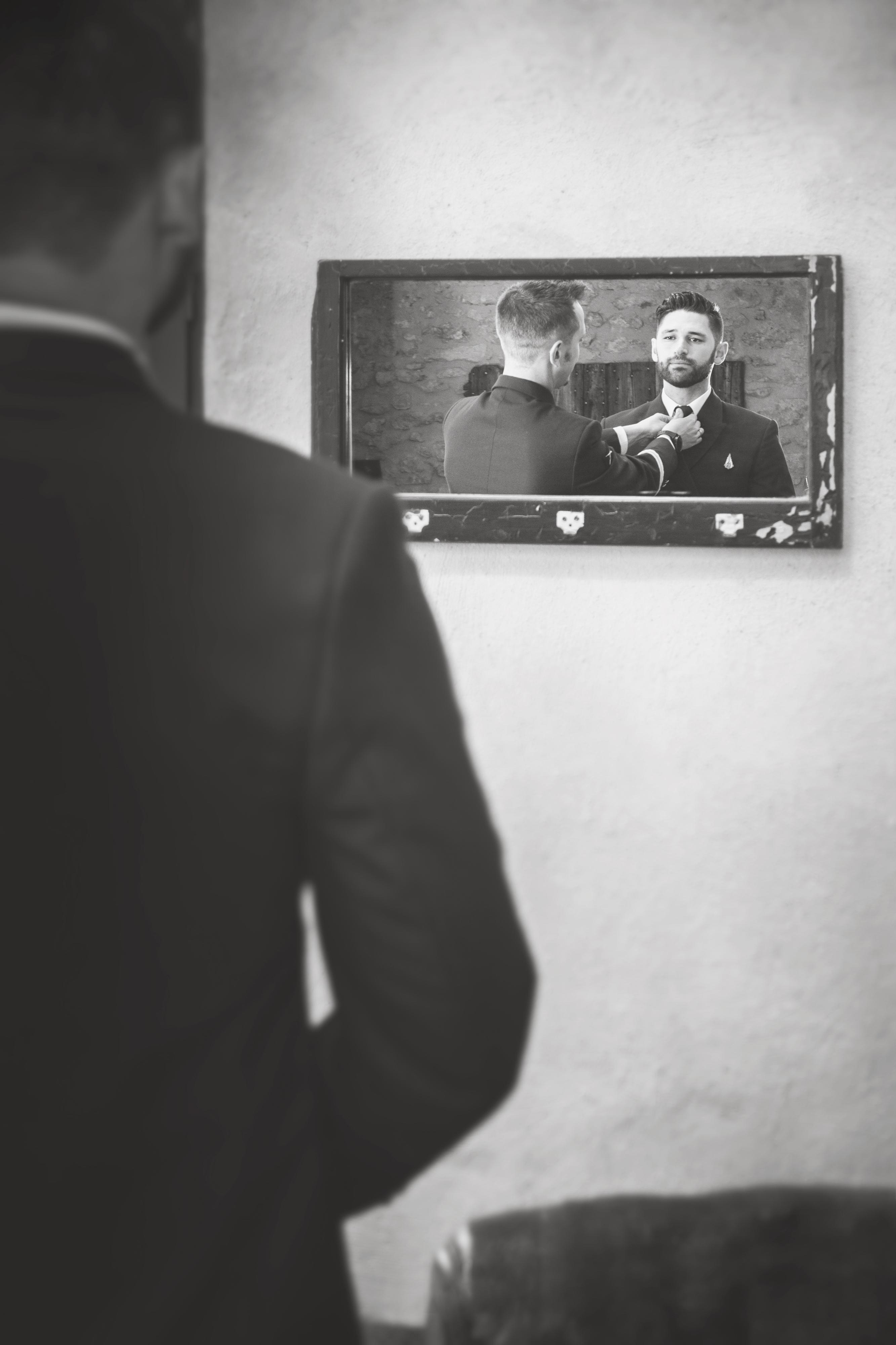 photographe de mariage, préparatifs marié