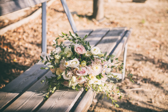 Photographe mariage, bouquet de mariée