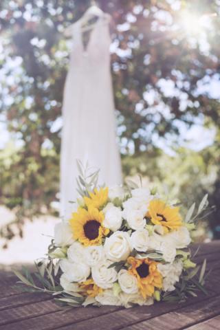photographe de mariage, bouquet de la mariée