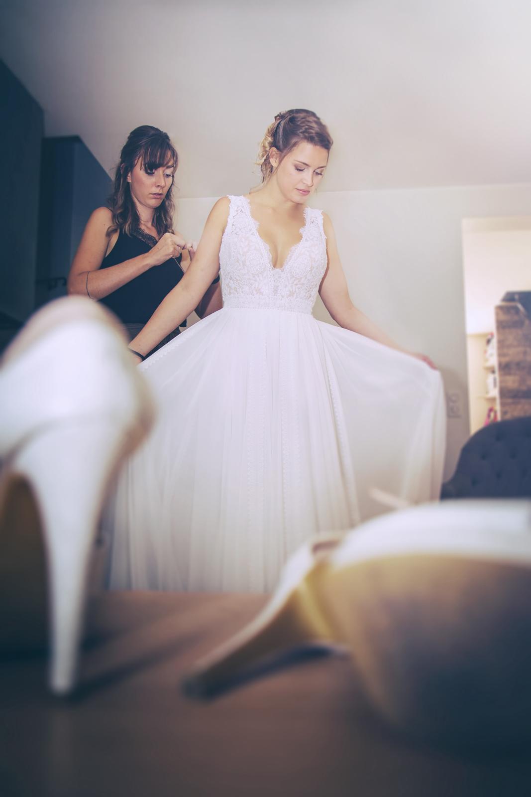 photographe de mariage, préparatifs de la mariée