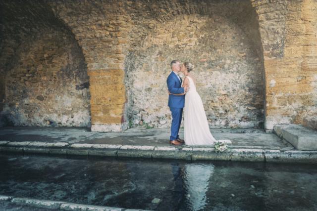 Photographe mariage, portrait mariés, shooting mariés
