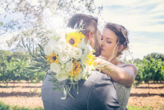photographe de mariage, mariage bohème, les mariés