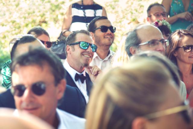 photographe de mariage, les invités