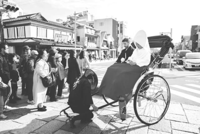 photographe de mariage à l'étranger, cérémonie au Japon
