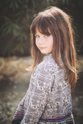 Photographe portrait, shooting enfant, fille
